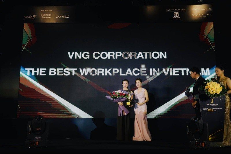 VNG WINS INTERNAL COMMUNICATIONS AWARDS